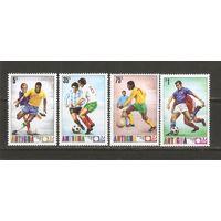 Антигуа 1974 Футбол