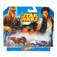 Hot Wheels - Star Wars набор из 2 авто Хан Соло и Чубакка CGX02\CGX03 SW