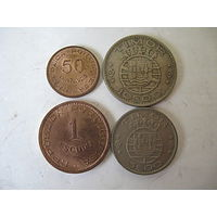 Комплект монет Тимора