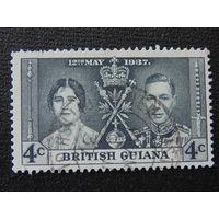 Британская Гайана. 1937г.