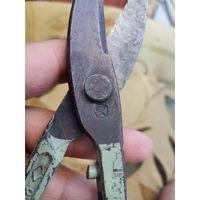 Ножницы по металу с клеймом СССР.