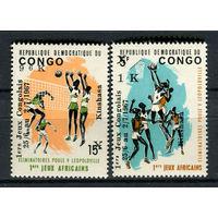 Конго (Заир) - 1967 - Спорт - [Mi. 301-302] - полная серия - 2 марки. MNH.