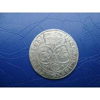 6 грошей (шостак) 1663 (2)         (2836)