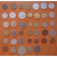 Сборный лот 40 монет