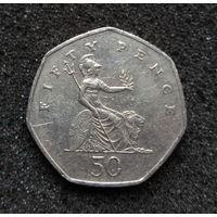 Великобритания, 50 пенсов 1979