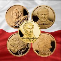 Огинский и вся серия Иоан Павел II, Костюшко, Шопен, Коперник, Мицкевич.