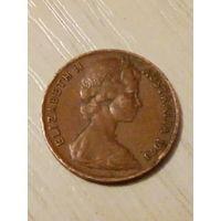 Австралия 1 цент 1973г.