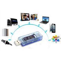 Цифровой тестер USB напряжение, ток, время работы, емкость