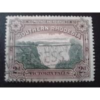 Южная Родезия 1932 водопад Виктория колония Англии