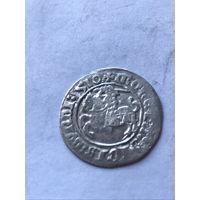 Полугрош 1510 г.  - с 1 рубля.