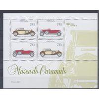 [407] Португалия 1991.Автомобили.  БЛОК.