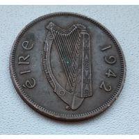 Ирландия 1 пенни, 1942 6-7-12