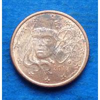 Франция 1 евроцент 2016