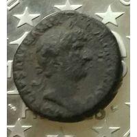 Денарий Рим 119-122 г.