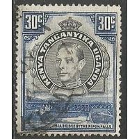 Кения Уганда и Танганьика. Король Георг VI. Мост. 1938г. Mi#62.
