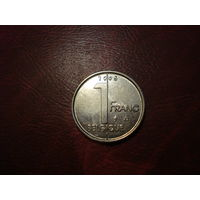 1 франк 1995 Бельгия