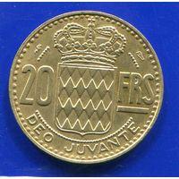 Монако 20 франков 1951