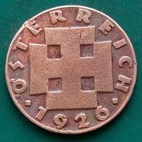 2 гроша 1926 АВСТРИЯ