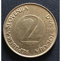 2 толара 2000 Словения