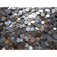Очень большой лот монет - 10 кг. Без СССР, России, Украины. Всего 5 дней