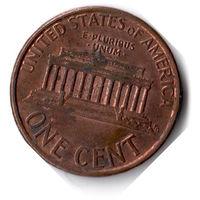 США. 1 цент. 1994 г.