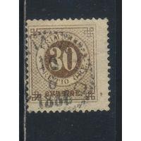 Швеция 1872 Номинал Стандарт #24В