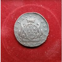 1 копейка 1779 км. Сибирская монета. Сохран!