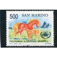 Сан Марино. Всемирная программа питания