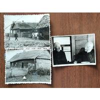 Фото из СССР. Несколько фото сельского быта.  8х10.5 см. Цена за все.