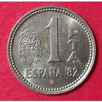 21-09 Испания, 1 песета 1980 г.