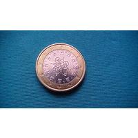 Португалия 1 евро 2017г.   распродажа