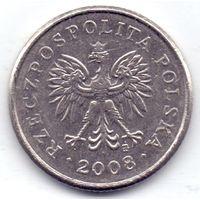 Польша, 20 грошей 2008 года.
