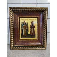 Икона Ангел Хранитель и Святой Алексий