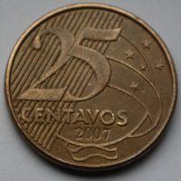 Бразилия, 25 сентаво 2007 г.