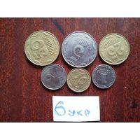 6 монет украина