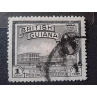 Гайяна, колония Англии 1954 королева Елизавета 2
