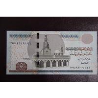 Египет 5 фунтов 2016 год UNC