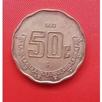 57-04 Мексика, 50 сентаво 1993 г.