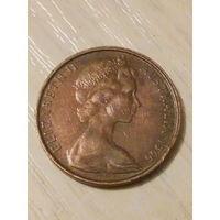 Австралия 2 цента 1966г.