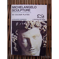 MICHELANGELO SCULPTURE Dolphin Art Book with 80 Colour Plates A. Parronchi