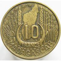 Мадагаскар 10 франков 1953 (а)
