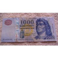 Венгрия 1000 форинтов 2015г. распродажа