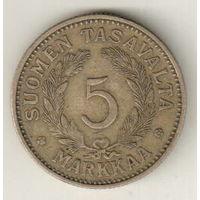 Финляндия 5 марка 1937