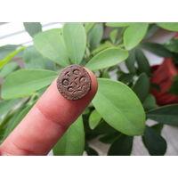 Щиток от старинного перстня с геральдическим символом