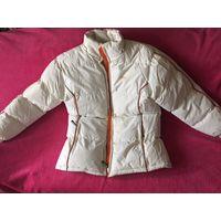 Куртка 48 унисекс супер теплая Цвет белый