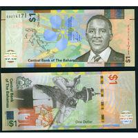 Багамы 2017 1 доллар UNC