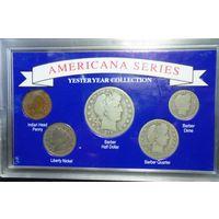Набор монет США.