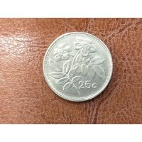 25 центов 1993 Мальта