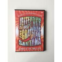 Jefferson Airplane the Grateful Dead Santana концерт DVD
