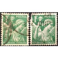 ЦІКАВІЦЬ АБМЕН! 1939, Iris, 1 франк